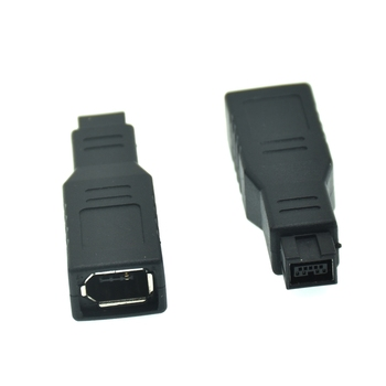 IEEE 1394 IEEE1394 6PIN Moteris 1394b 9PIN male firewire 400 IKI 800 adapteris